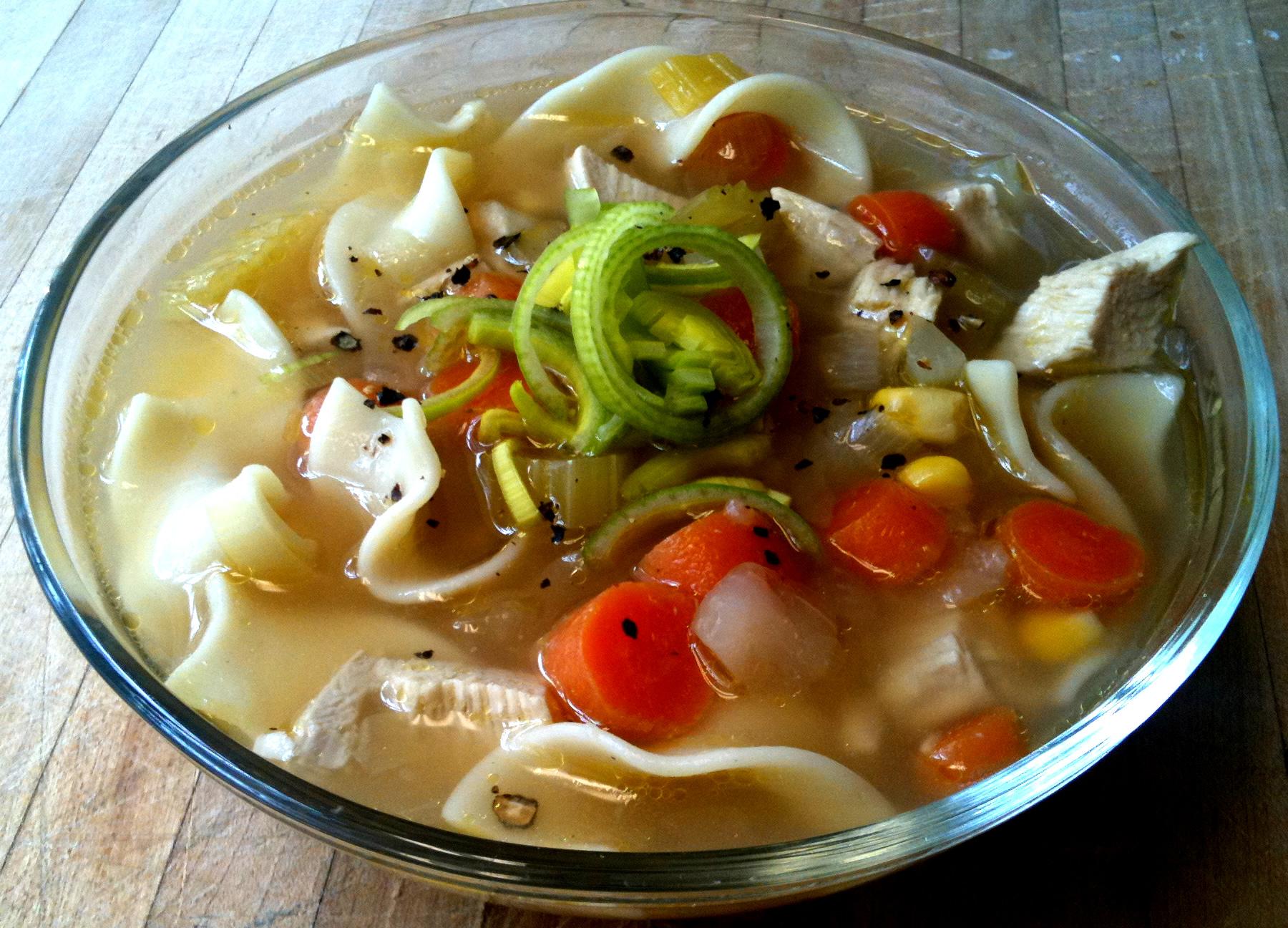 Chicken noodle soup la cuisine minusculela cuisine minuscule for Cuisine minuscule