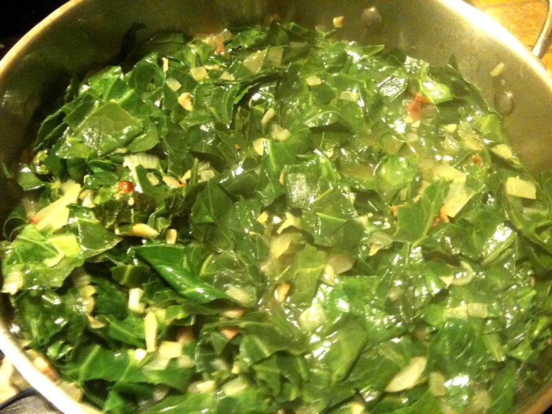 Southern us collard greens la cuisine minusculela for Cuisine minuscule