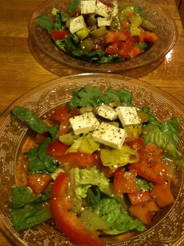 Salads easy as 1 2 3 la cuisine minusculela cuisine for Cuisine minuscule
