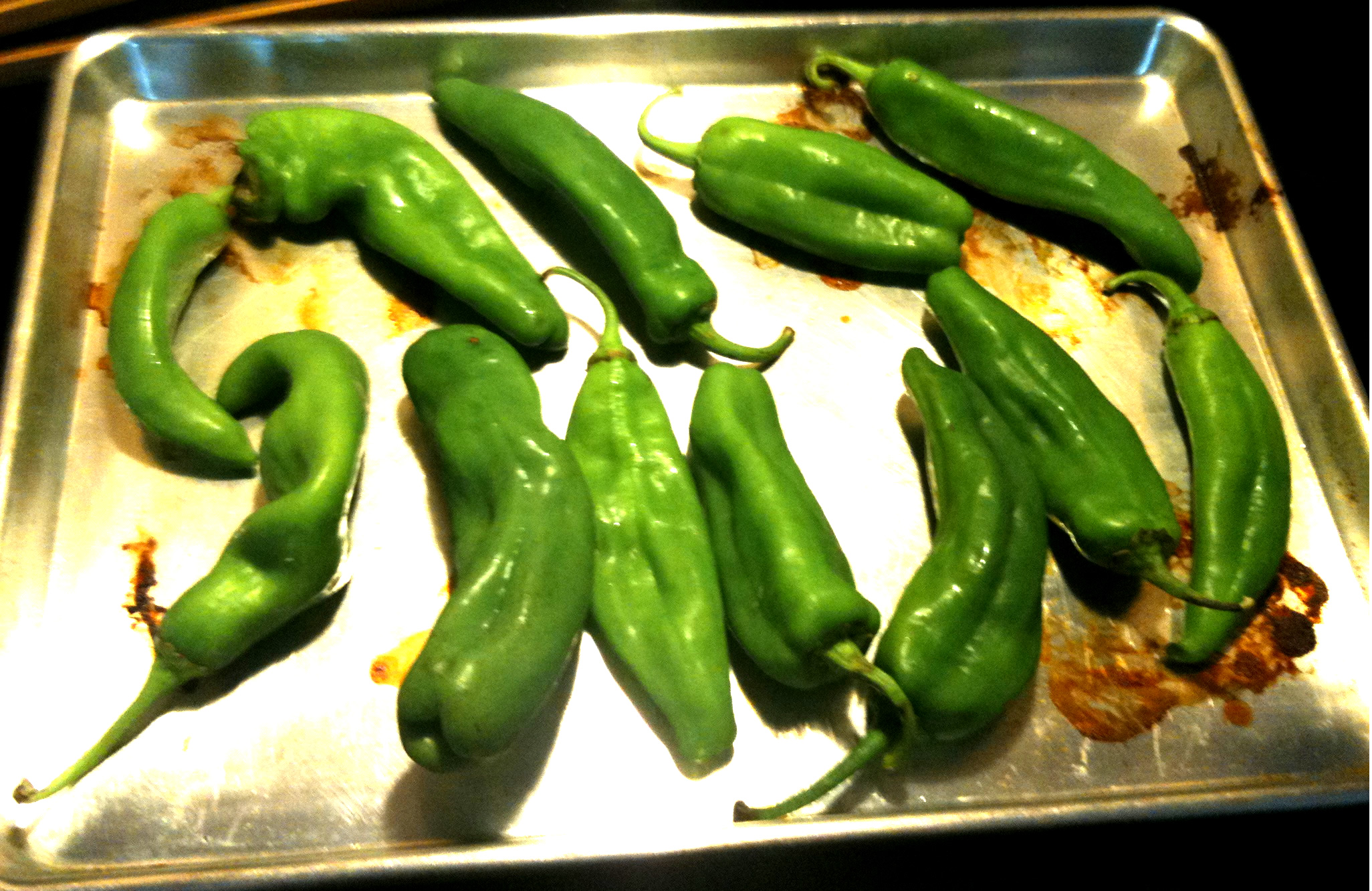 New Mexican Hatch Green Chile Pepper Sauce Recipe